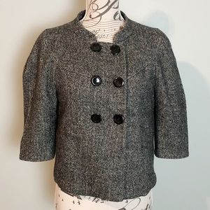 Guess heathered double breasted jacket size xsmall